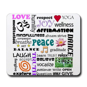 spiritual growth mousepad