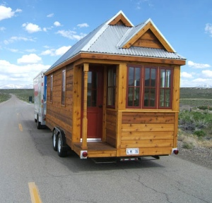 tiny house on trailer