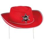red felt cowboy har