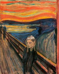 tom brady the scream